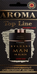 Ароматизатор Aroma Top Line №29 (Bvlgari Man in Black)