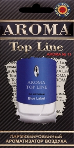 Ароматизатор Aroma Top Line №11 (Givenchy Blue Label)